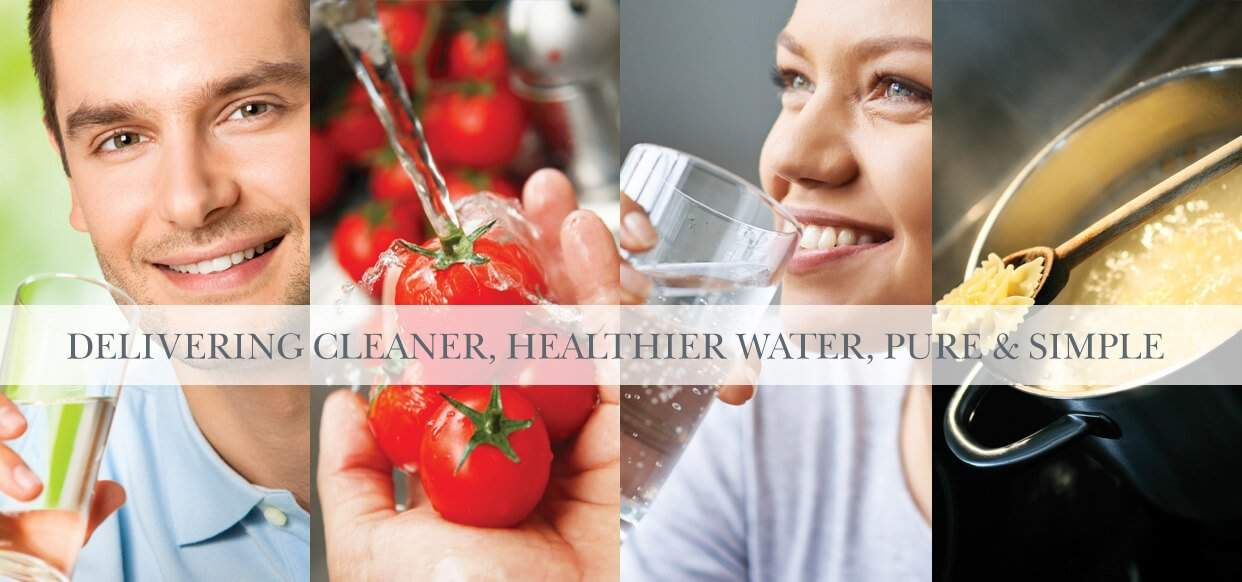 Bluewater Pro 400  purifiers provide Cleaner healthier purer dinking water