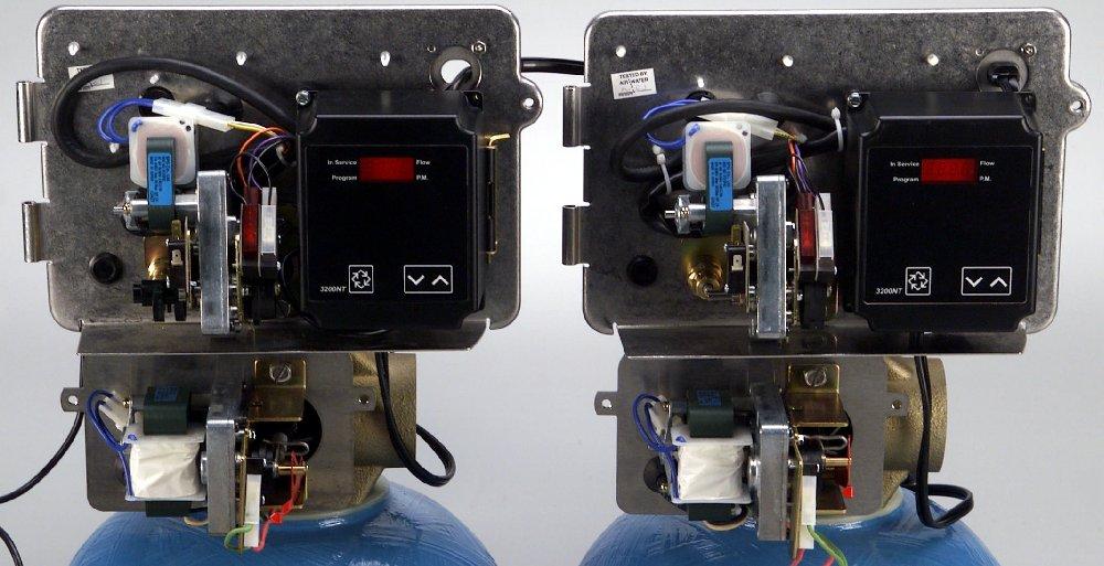 Fleck 2900 duplex softener valves