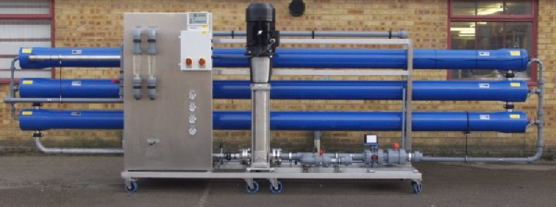 Pro 8-400 commercial reverse osmosis purification