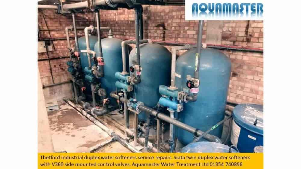 Industrial siata duplex water softeners service repairs Thetford, Norfolk